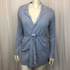 Mossimo Supply Co. Sweaters - NWT - Blue Mossimo Open Front Cardigan (Size: L)